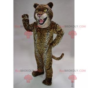 Panther-Maskottchen mit kleinen Flecken - Redbrokoly.com