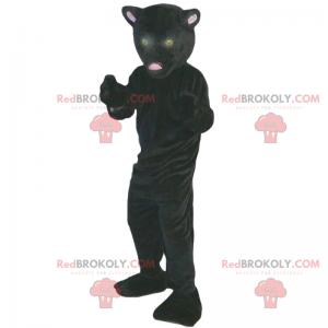 Černý panter maskot - Redbrokoly.com