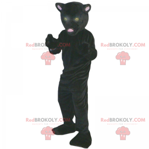 Schwarzes Panther-Maskottchen - Redbrokoly.com