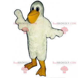 Maskot pelikán - Redbrokoly.com