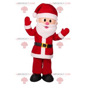 Usmívající se maskot Santa Clause - Redbrokoly.com