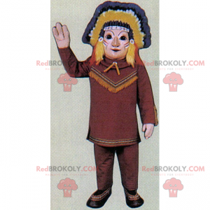 Character mascot - Native American - Redbrokoly.com