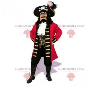 Karakter mascotte - Captain Pirate Ship - Redbrokoly.com