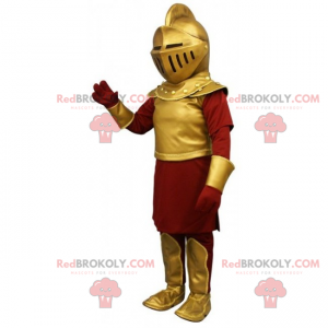 Karaktermaskot - Ridder - Redbrokoly.com
