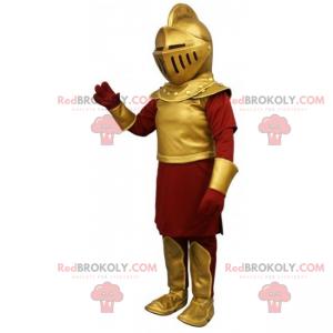 Mascote do personagem - Cavaleiro - Redbrokoly.com