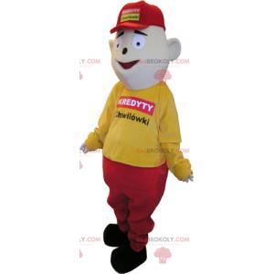 Mascotte personaggio - commentatore sportivo - Redbrokoly.com