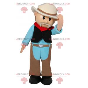 Character mascot - Cowboy - Redbrokoly.com