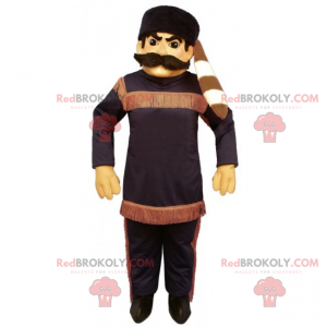 Charakter Maskottchen - Davy Crockett - Redbrokoly.com