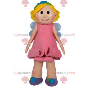 Mascote do personagem - fada - Redbrokoly.com