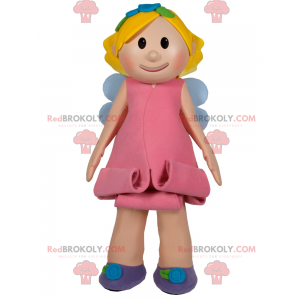 Mascotte personaggio - Fata - Redbrokoly.com