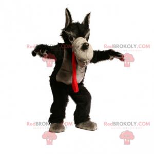 Maskot postavy - velký zlý vlk - Redbrokoly.com