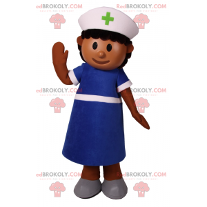 Maskot postavy - zdravotní sestra - Redbrokoly.com