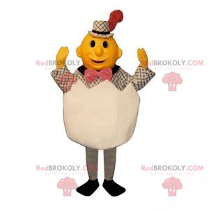 Charakter Maskottchen in einer Eierschale - Redbrokoly.com