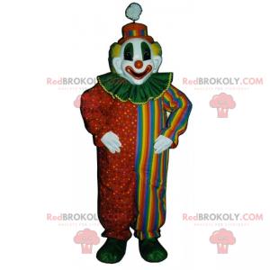 Cirkus karakter maskot - klovn - Redbrokoly.com