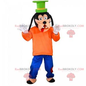 Mascotte van Disney-personage - Goofy - Redbrokoly.com