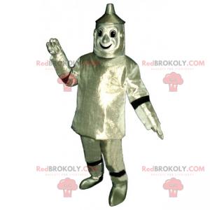 Zauberer von Oz Charakter Maskottchen - Blechmann -