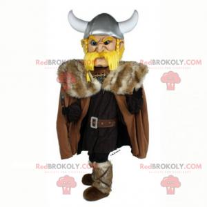 Mascote de personagem histórico - Capitão Viking -