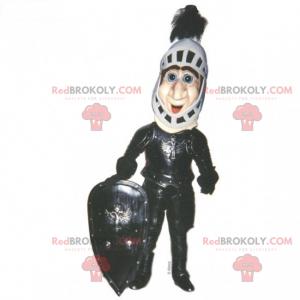 Mascote de personagem histórico - Cavaleiro - Redbrokoly.com