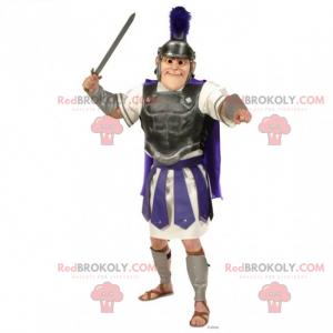 Mascote de personagem histórico - romano - Redbrokoly.com