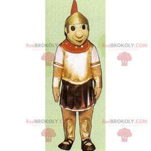 Maskottchen mit historischem Charakter - römischer Soldat -