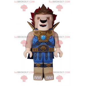 Lego Charakter Maskottchen - Löwe in Rüstung - Redbrokoly.com