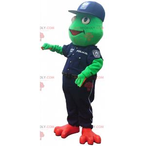 Malý maskot chameleon - Redbrokoly.com