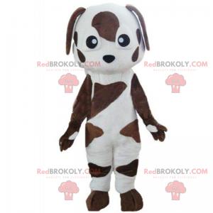 Malý hnědý pes maskot - Redbrokoly.com