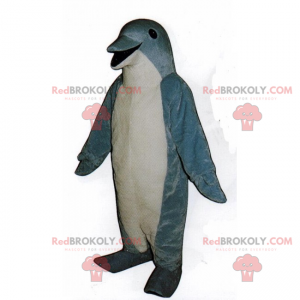 Mascote pequeno golfinho - Redbrokoly.com
