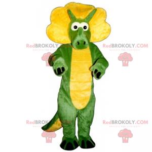 Little dino triceratops mascot - Redbrokoly.com