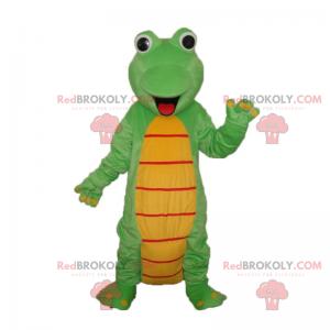 Kleines lächelndes Dinosauriermaskottchen - Redbrokoly.com