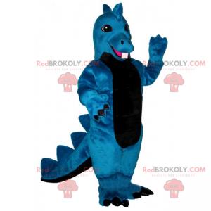 Malý modrý drak maskot - Redbrokoly.com