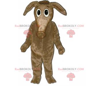 Malý slon maskot s velkýma očima - Redbrokoly.com