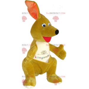 Malý maskot klokan s kapsou - Redbrokoly.com