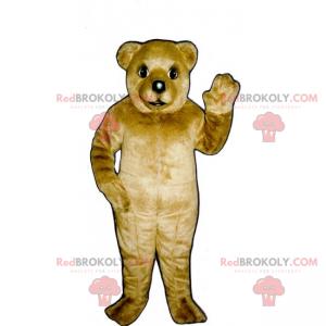 Little brown bear mascot - Redbrokoly.com