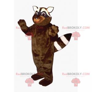 Kleines Waschbärenmaskottchen - Redbrokoly.com
