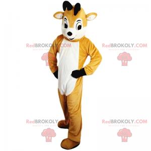 Little reindeer mascot - Redbrokoly.com