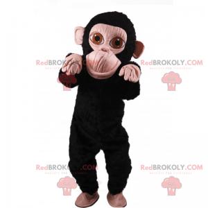 Kleines Affenmaskottchen - Redbrokoly.com