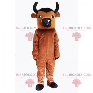 Malý býk maskot - Redbrokoly.com