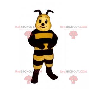 Malý včelí maskot s krátkými anténami - Redbrokoly.com