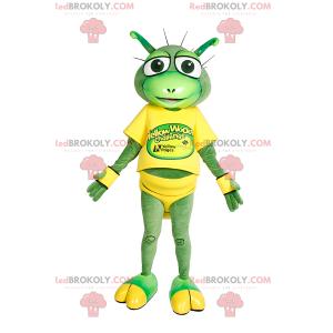 Kleines Froschmaskottchen mit großen Augen - Redbrokoly.com