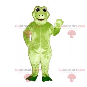Malá usměvavá žába maskot - Redbrokoly.com