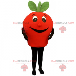 Malý usměvavý maskot rajče - Redbrokoly.com