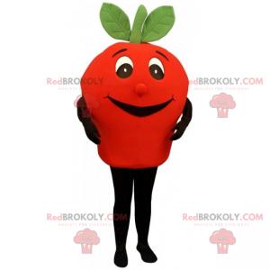 Small smiling tomato mascot - Redbrokoly.com
