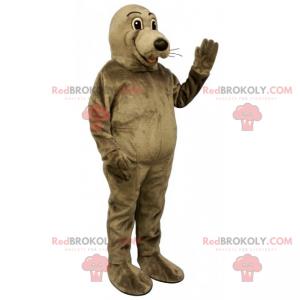 Mascote foca - Redbrokoly.com