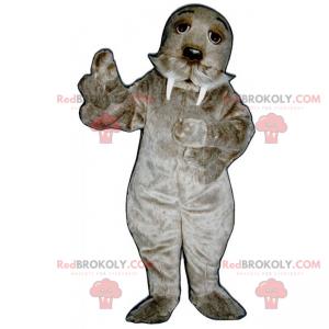 Mascota de morsa - Redbrokoly.com