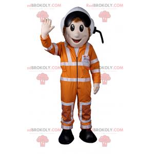 Car driver mascot - Redbrokoly.com