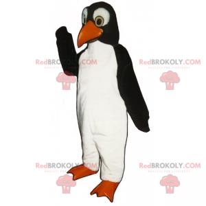 Měkký chlupatý tučňák maskot - Redbrokoly.com