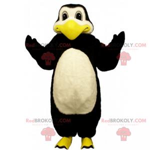 Maskot tučňák se žlutými nohami - Redbrokoly.com