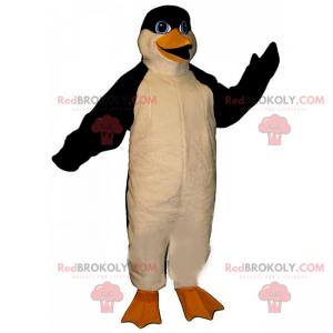 Penguin mascot with blue eyes - Redbrokoly.com