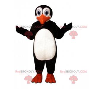 Maskotka pingwina z dużymi oczami - Redbrokoly.com